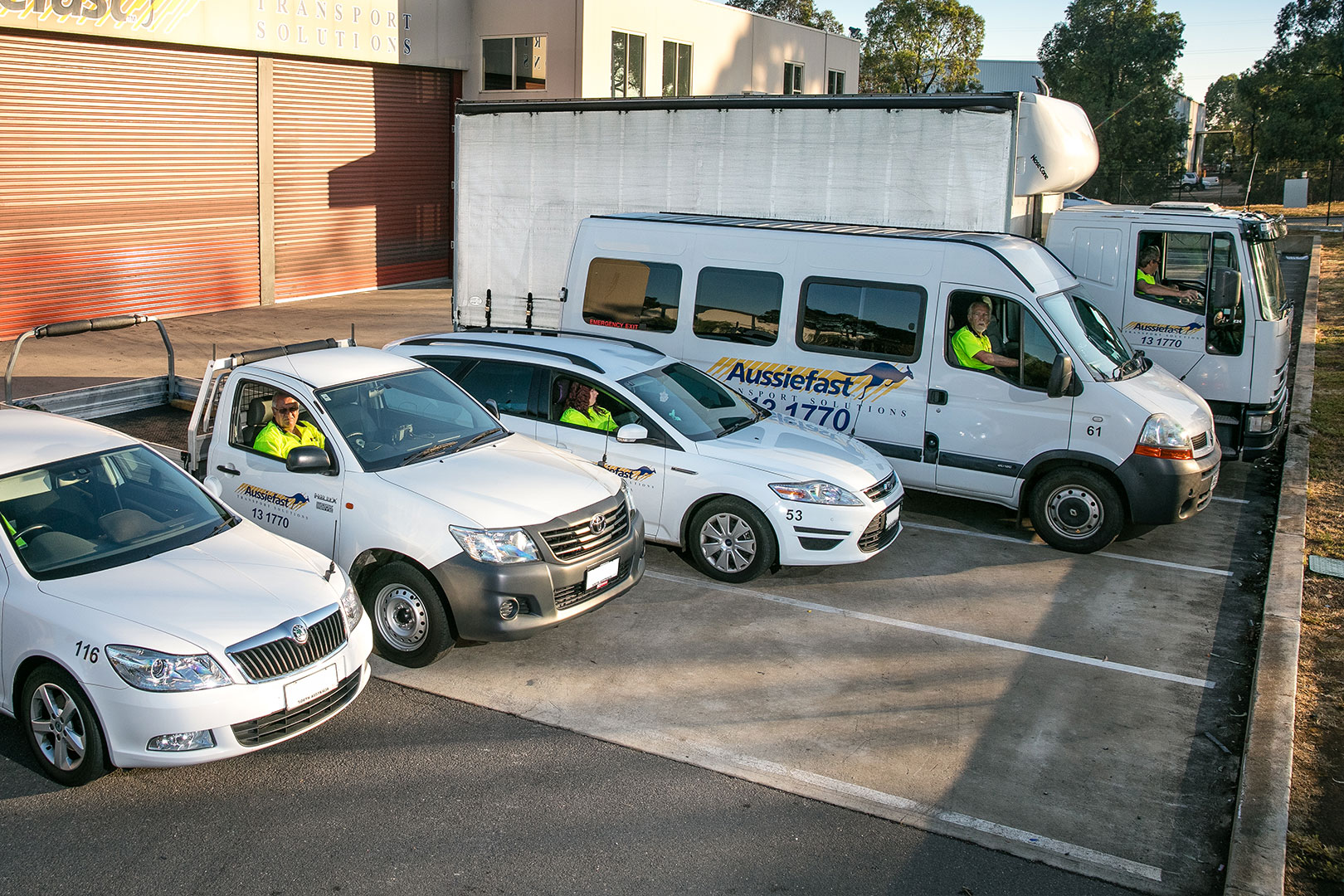 Aussiefast Courier Vehicles