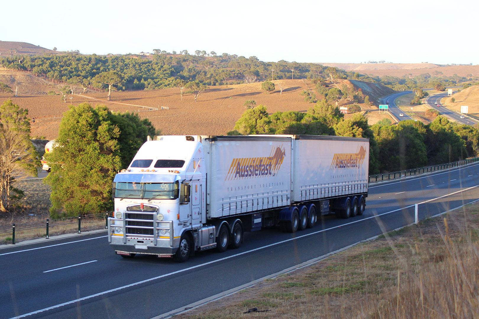 Aussiefast Courier Truck