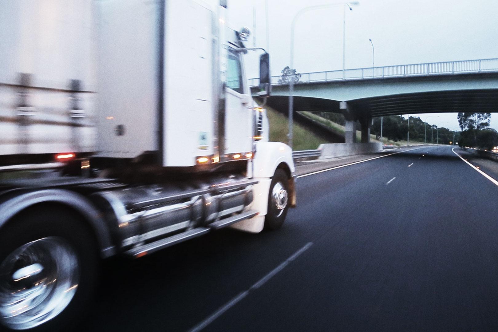 Linehaul Freight Truck
