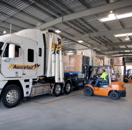 Full loads being loaded at Aussiefast